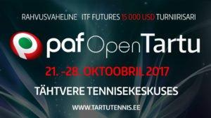PAF Open Tartu 2017 – ITF Pro Circuit