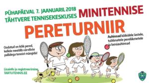 Minitennise Pereturniir 7.01.2018