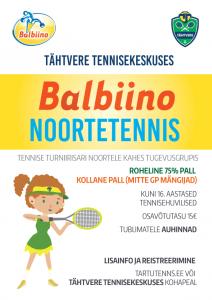 Balbiino Noortetennis ja Sädemed 01.07.2018
